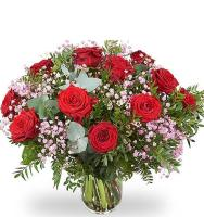 6486 - Red Rose Bouquet