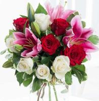 6072 - Rose and Lily Bouquet