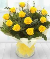 3605 - Dozen Yellow Roses