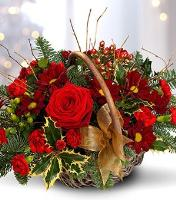 5086 - Festive Flower Basket