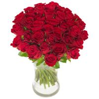 6112 - Forty Red Roses