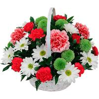7756 - Lively Flower Basket